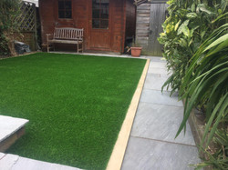 Artificial grass in Croxley.
