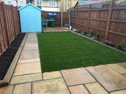 Patio & Artificial Grass