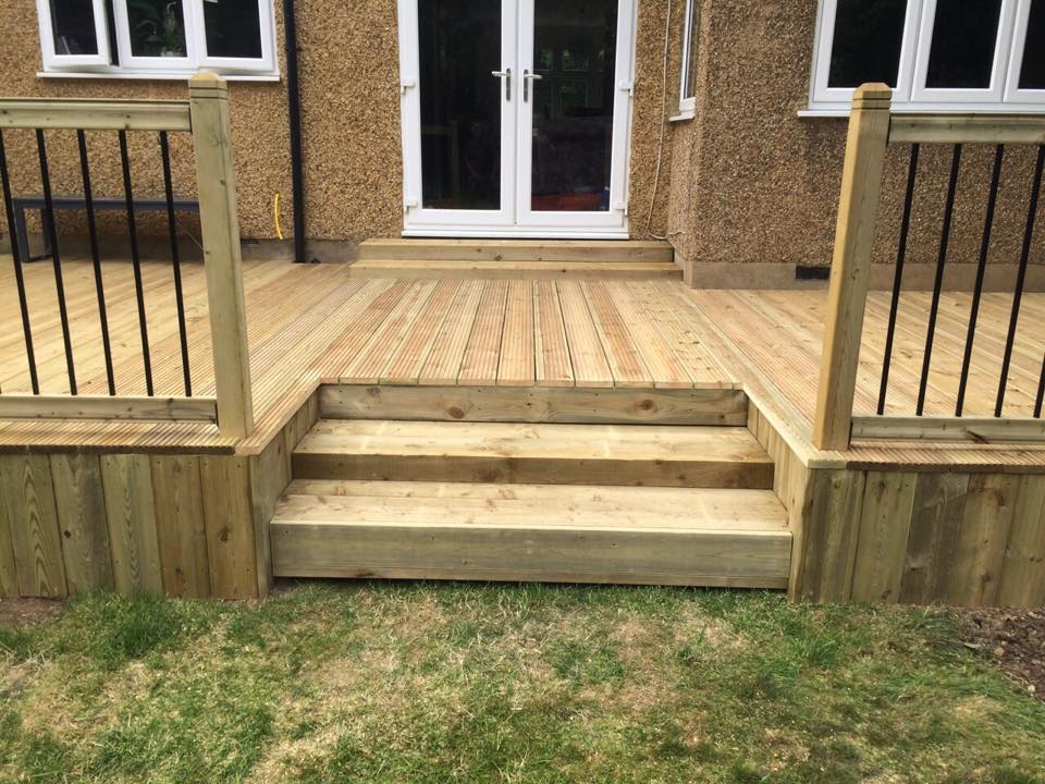 Decking and Handrails