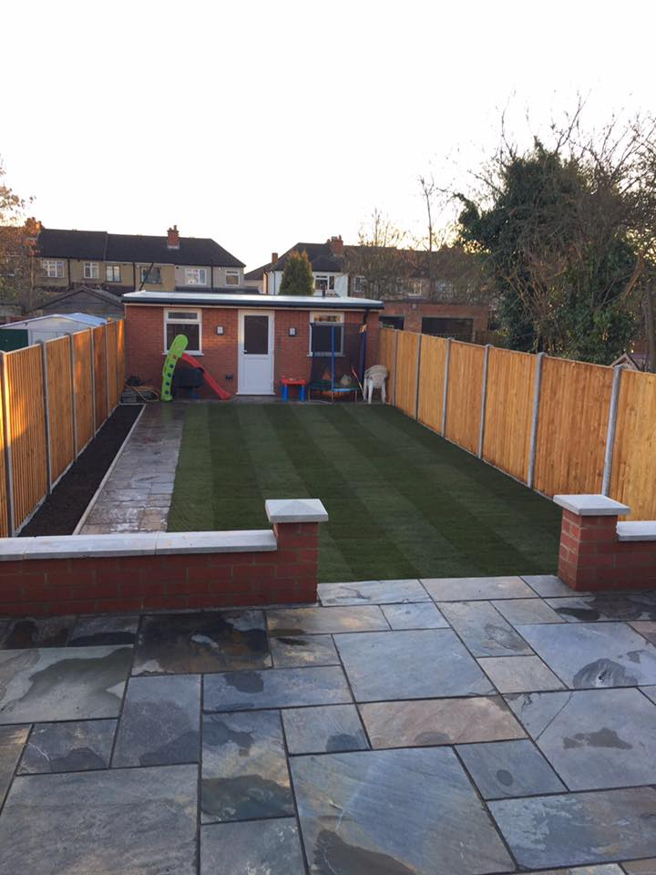 New lawn, Harrow
