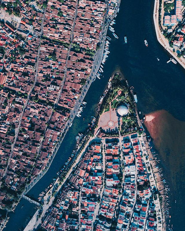 Hoi An from above, another place that's