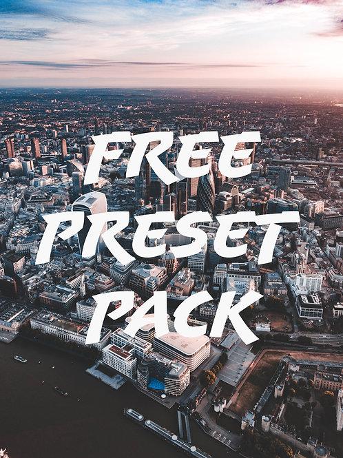FREE PRESET PACK