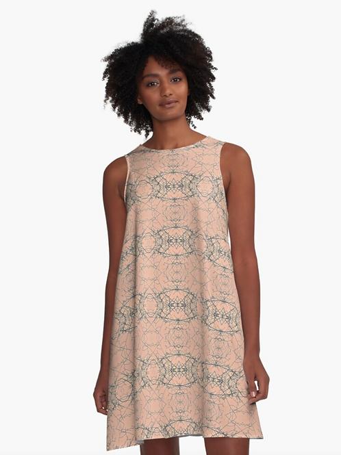 A-Line Dress - Nature