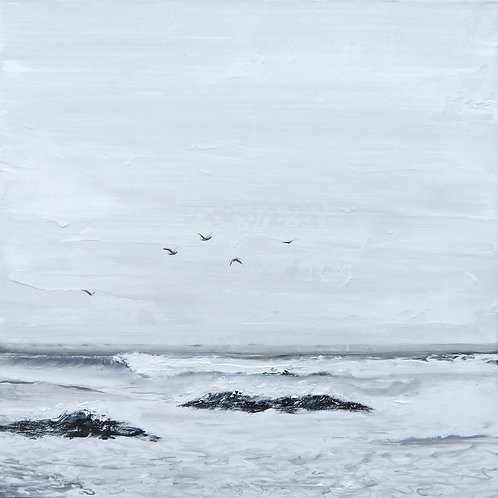 Sea Haze Swell - 60 x 60cm