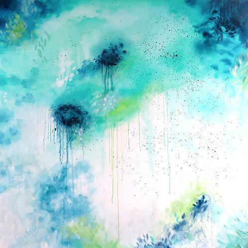 Tropical Dreaming - 100 x 100cm