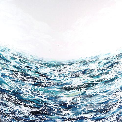 Feel Alive - 91 x 91cm