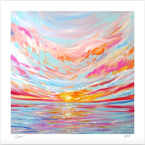 "Fine Art Print ""Sunburst"""