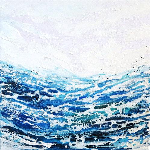 Ocean Love - 25 x 25cm