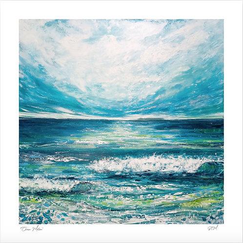 """Fine Art Print """"Ocean Motion"""""""