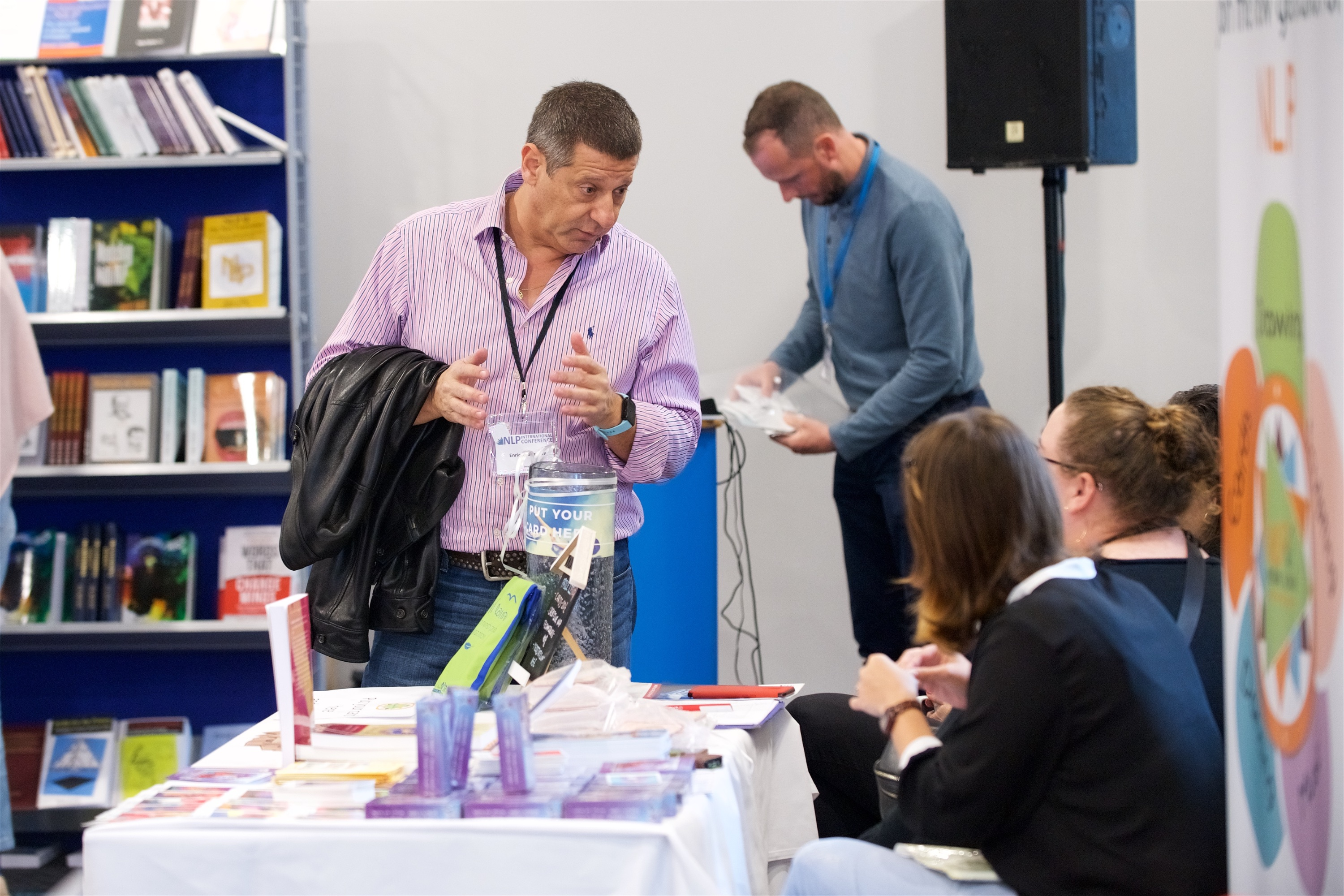 Exhibiting at NLP Conference