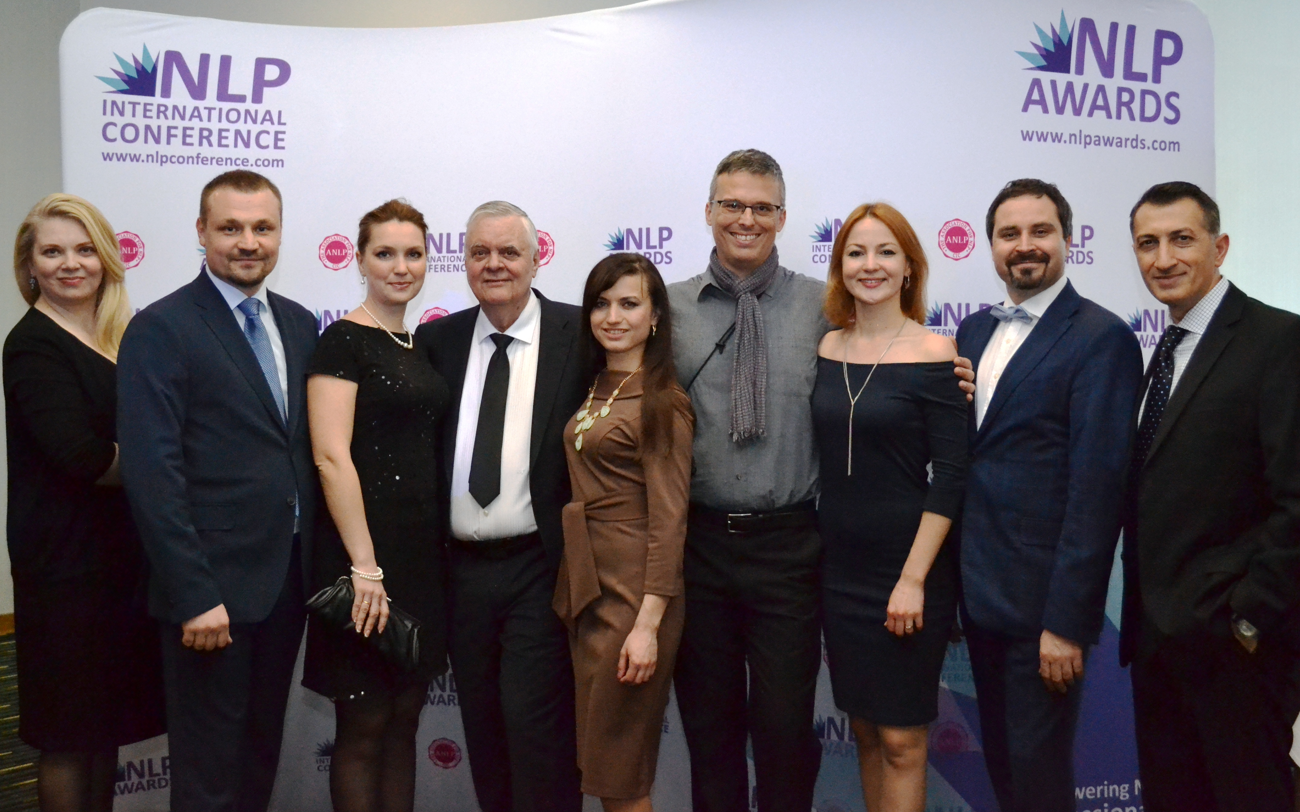 Frank Pucelik & team 2017 NLP Awards