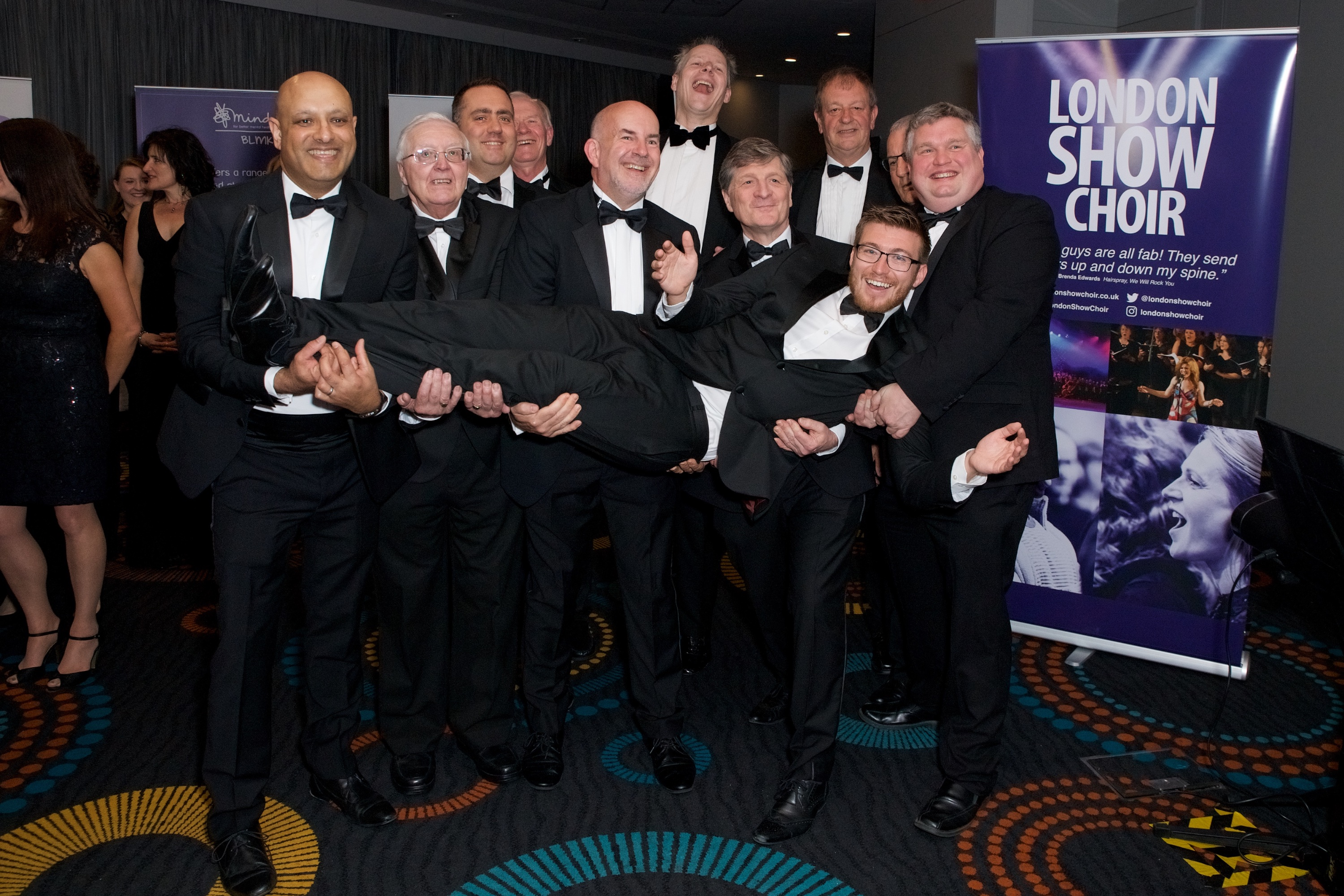 London Show Choir at NLP Awards