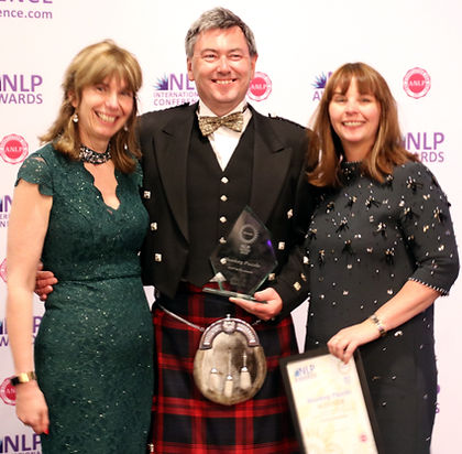 The 2017 Award for Making a Difference with NLP was awarded to Neil Almond.  ​