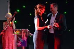 Robert Dilts accepting award