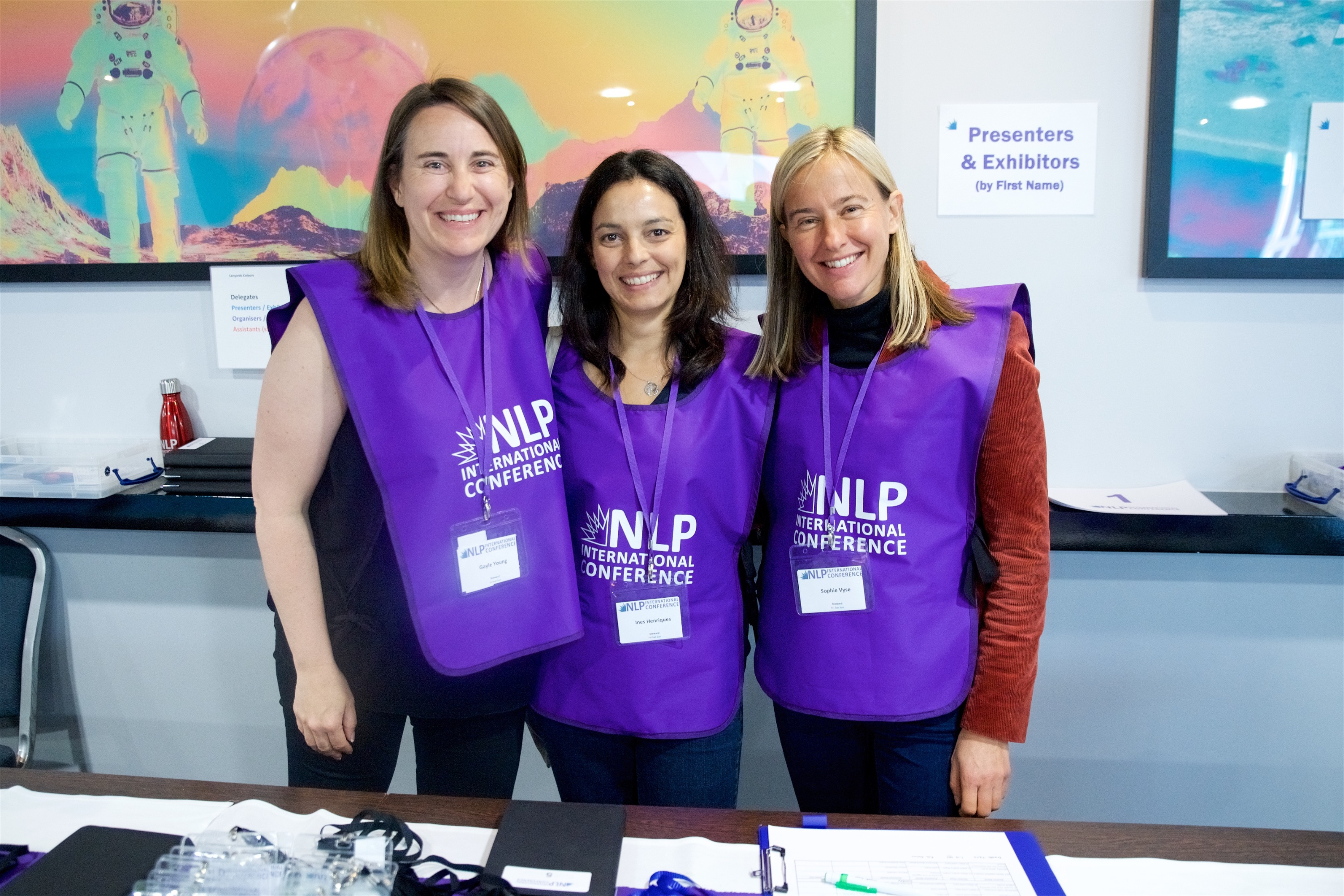 NLP Conference Support Team