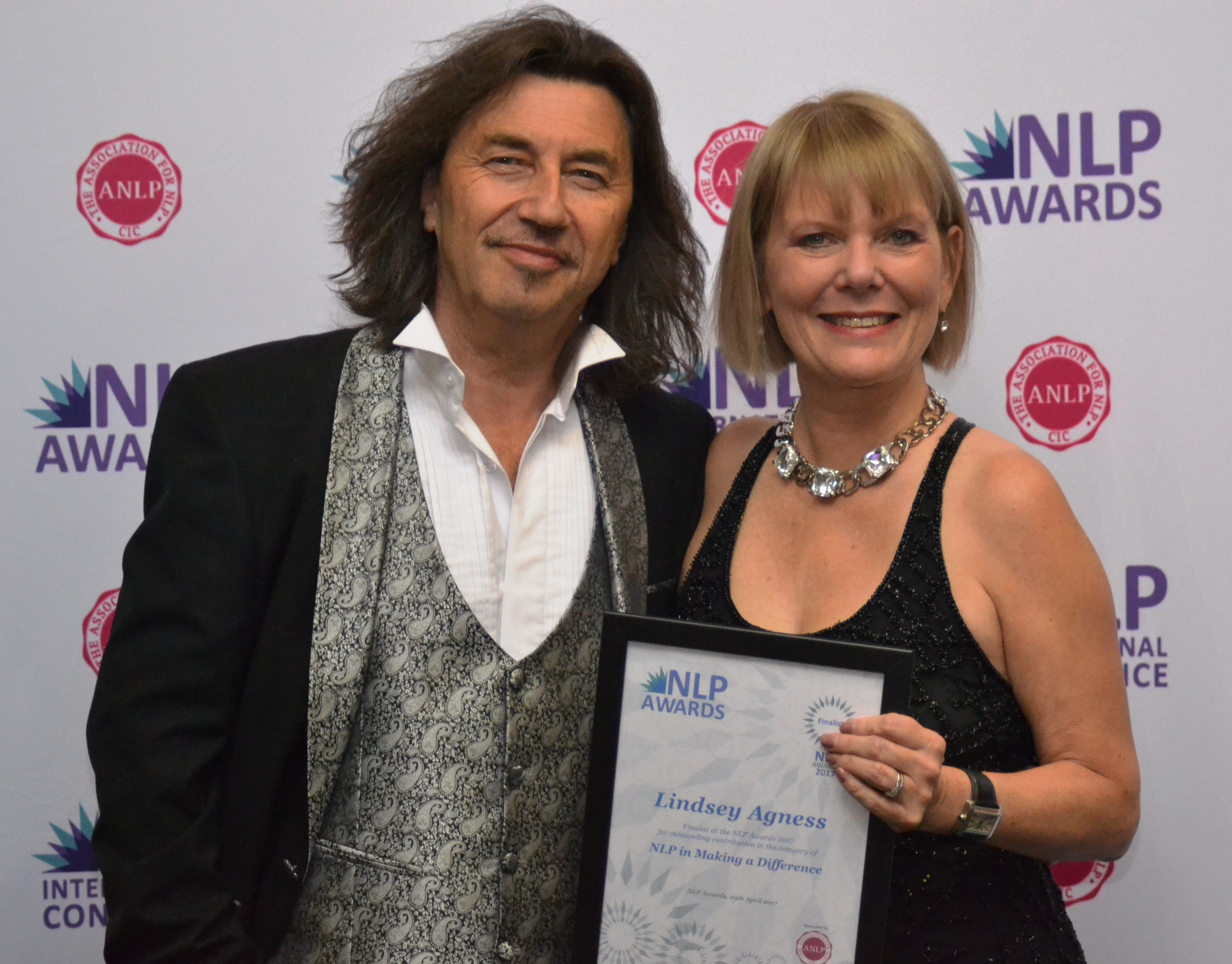 Finalist at 2017 NLP Awards