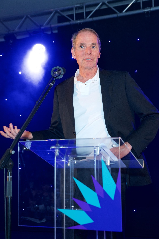 Robert Dilts Announcing Award Win