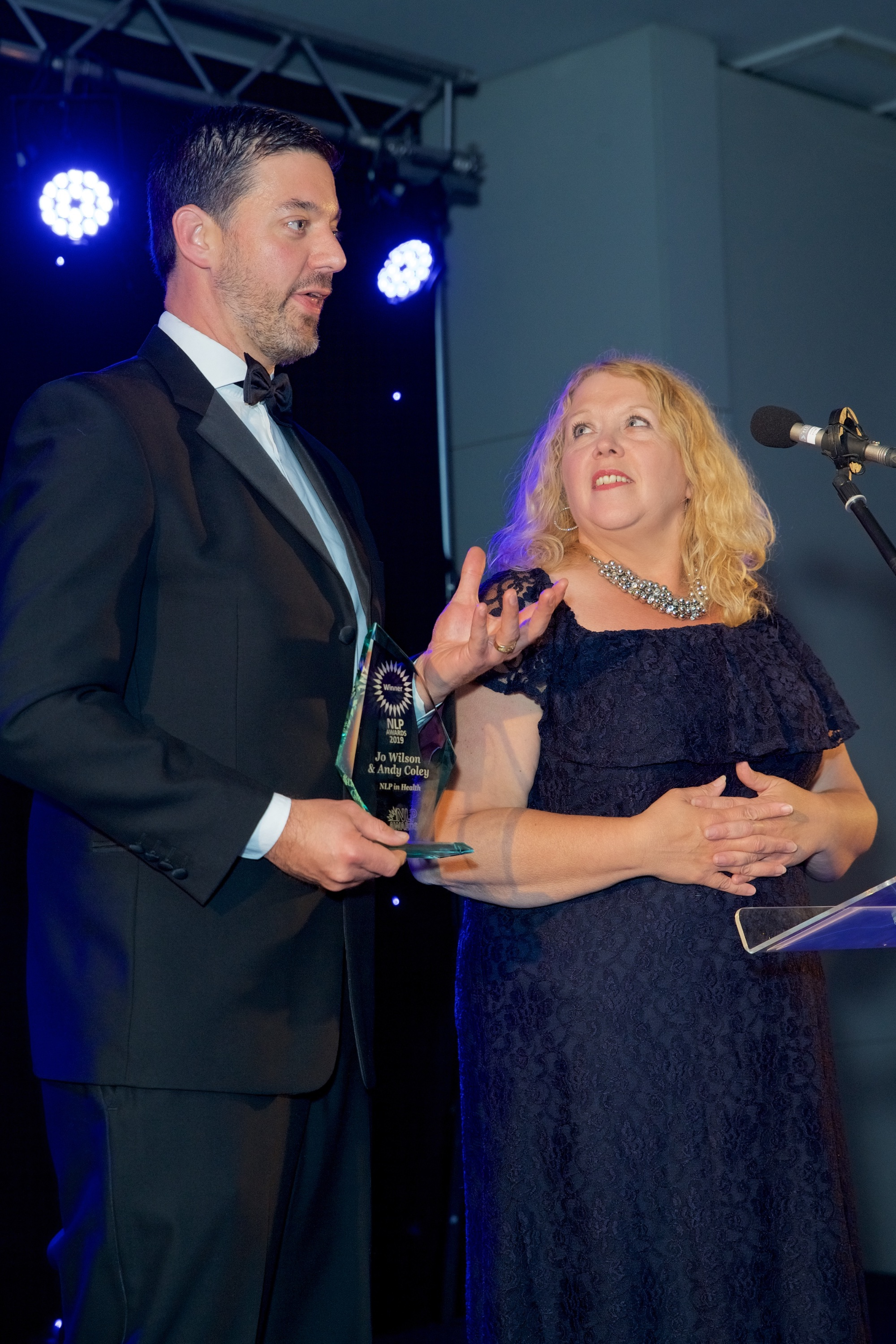 Jo Wilson and Andy Coley NLP Awards