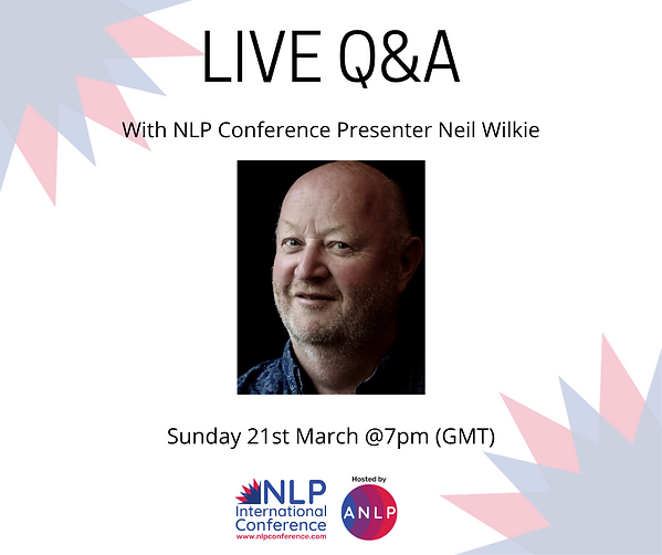 2021 03 21 @7pm - LIVE Q&A - Neil Wilkie