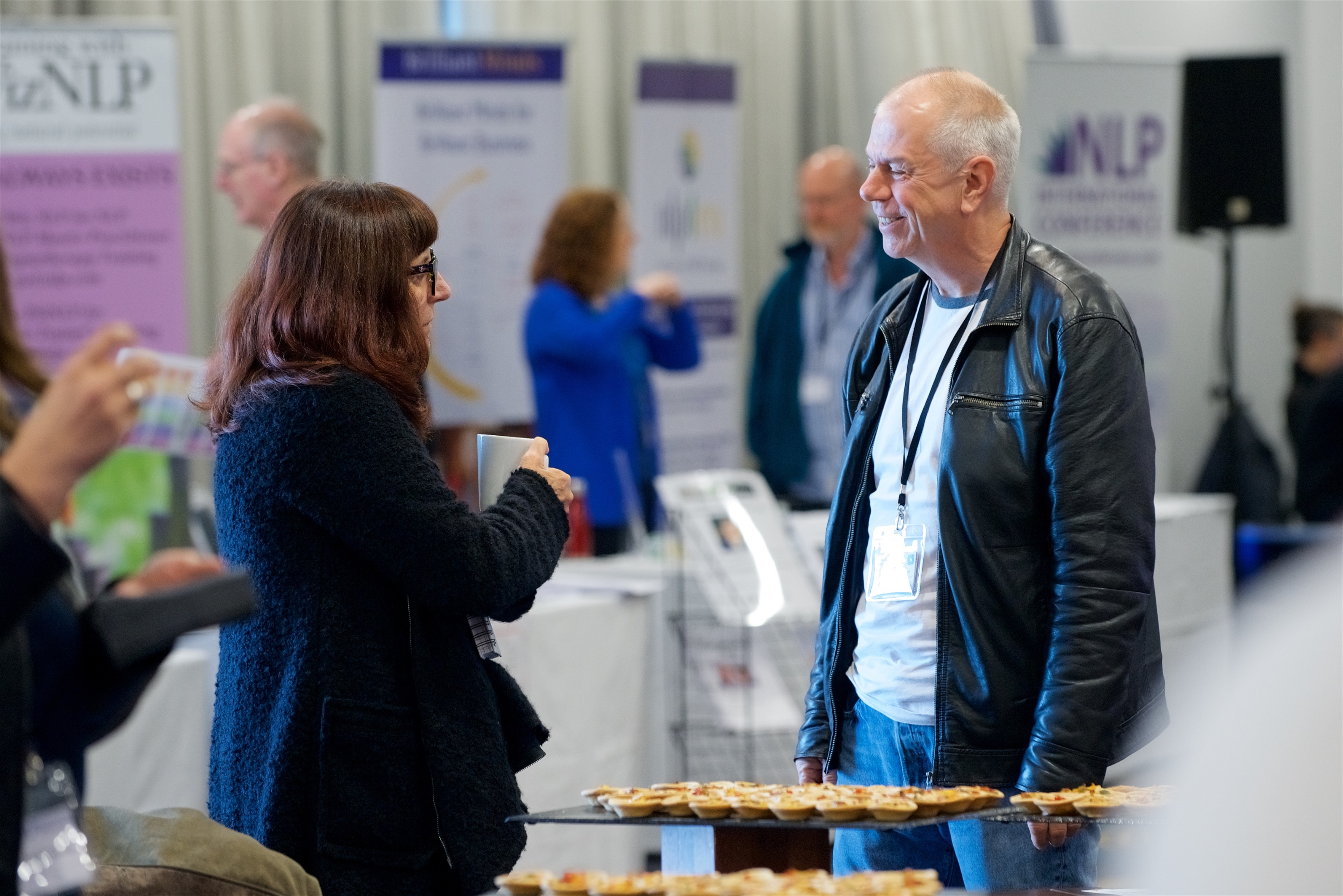 Chatting at NLP Conference