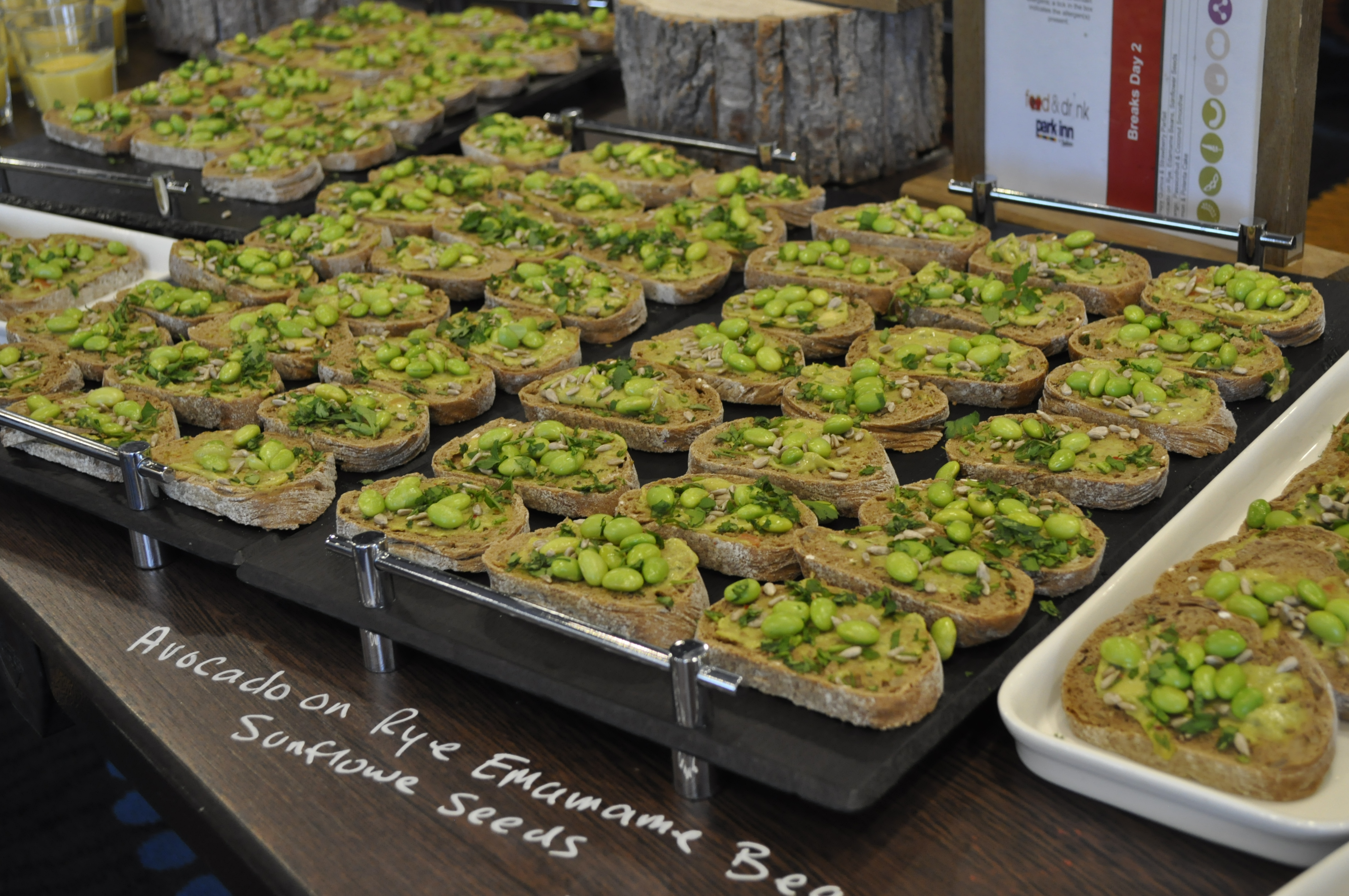 Food at the 2018 conference