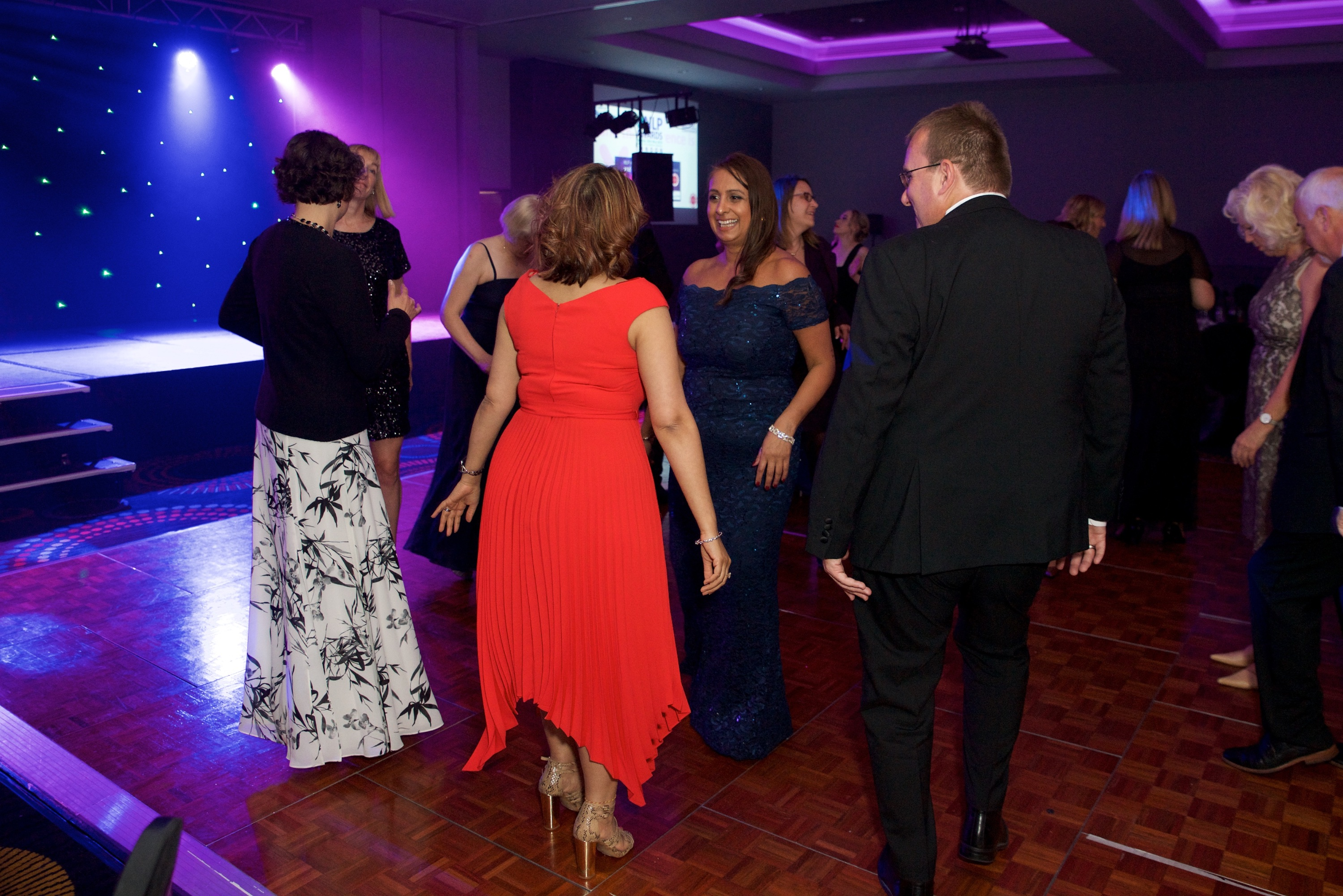 Dancing at 2019 NLP Awards Event