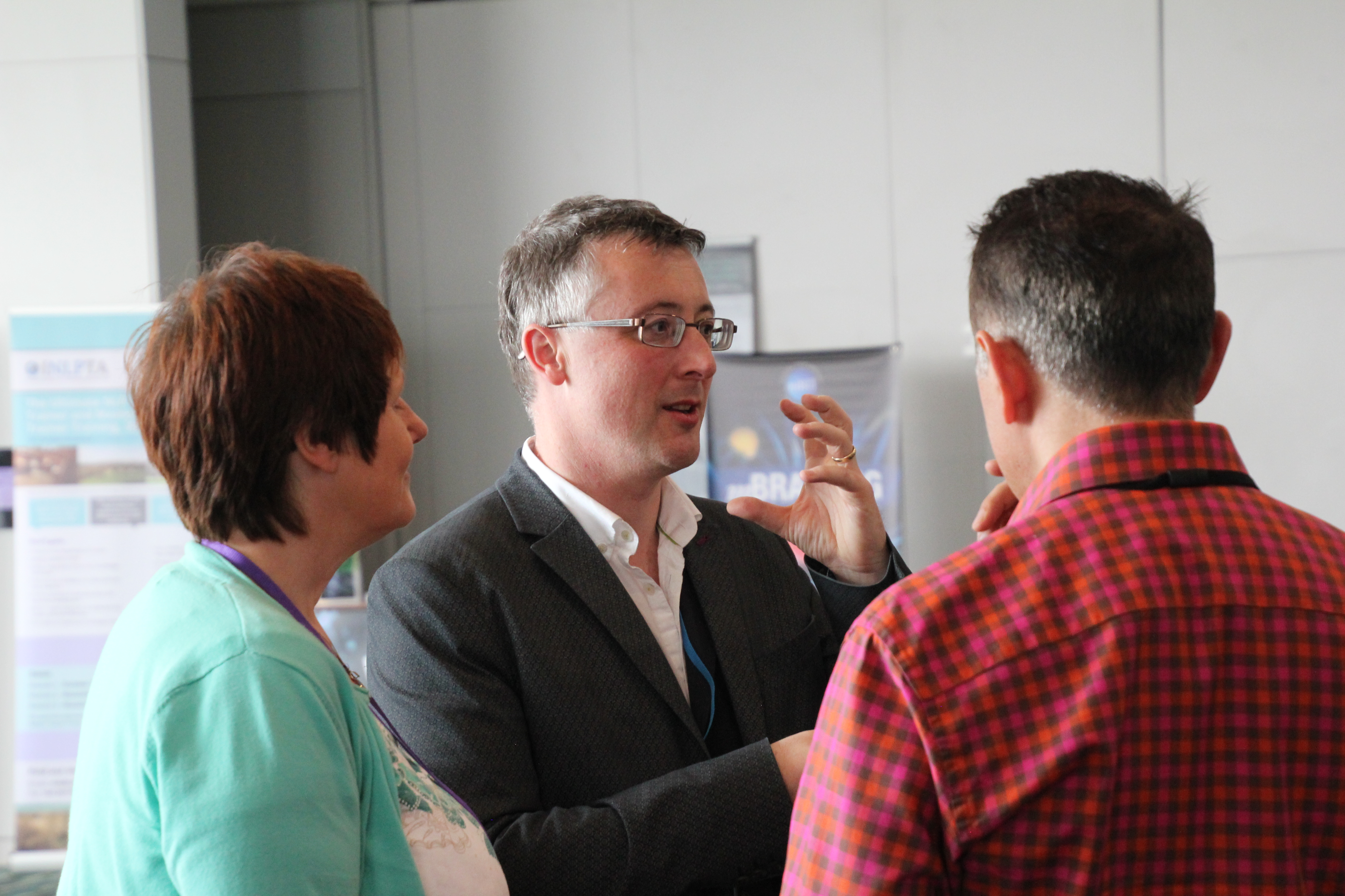 Exhibitors networking NLP Conference