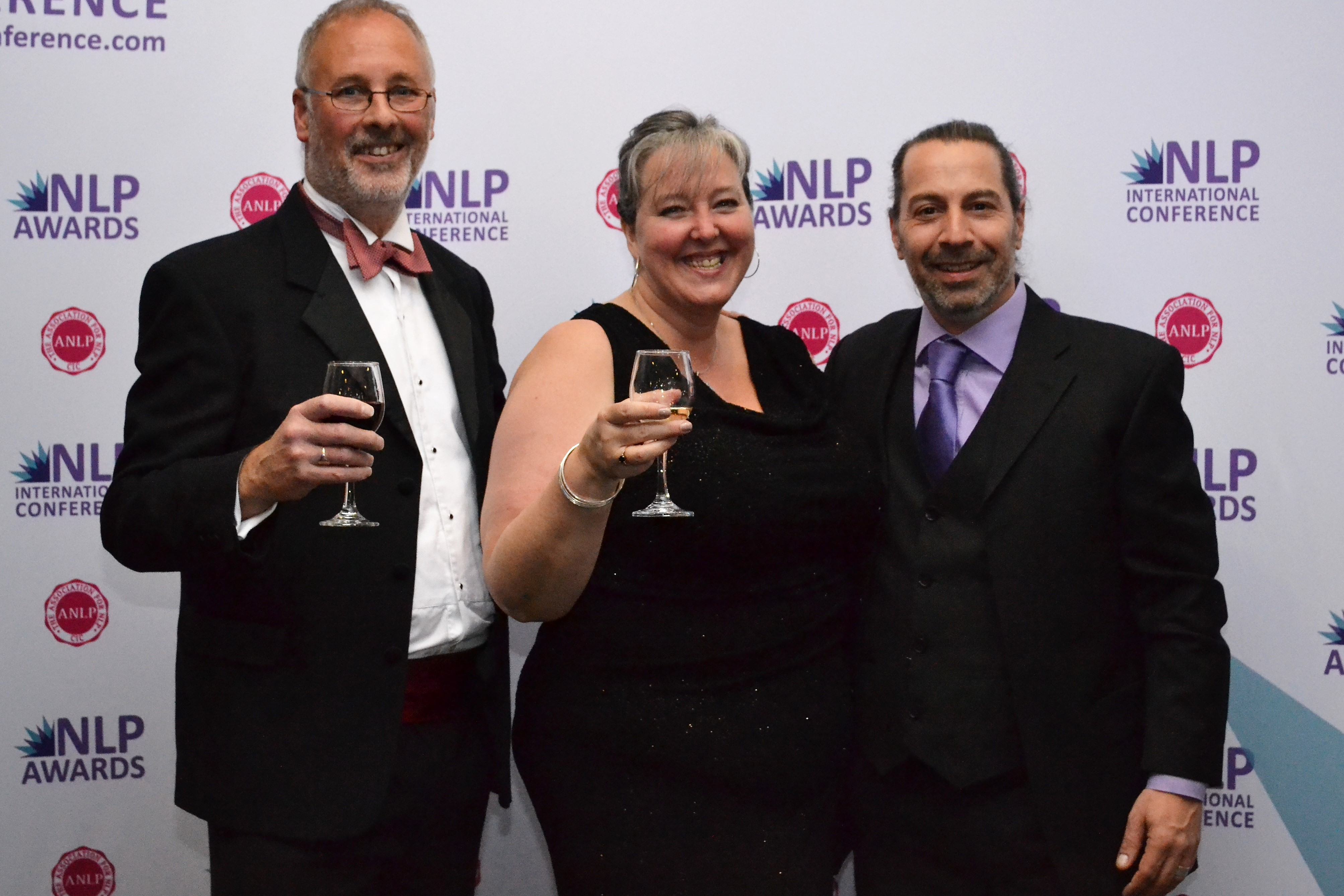 Celebrating at NLP Awards