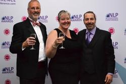Celebrating at NLP Awards