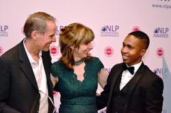 Robert, Thabiso and Karen