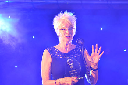 The Award for NLP in Business was awardedto Sue Knight.
