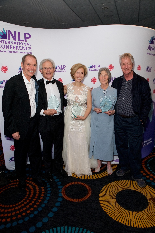 NLP Award Winners with Robert Dilts