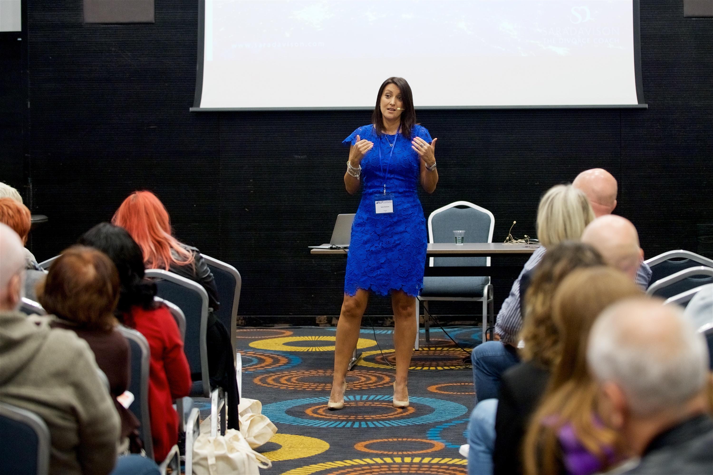 Sara Davison Presenting