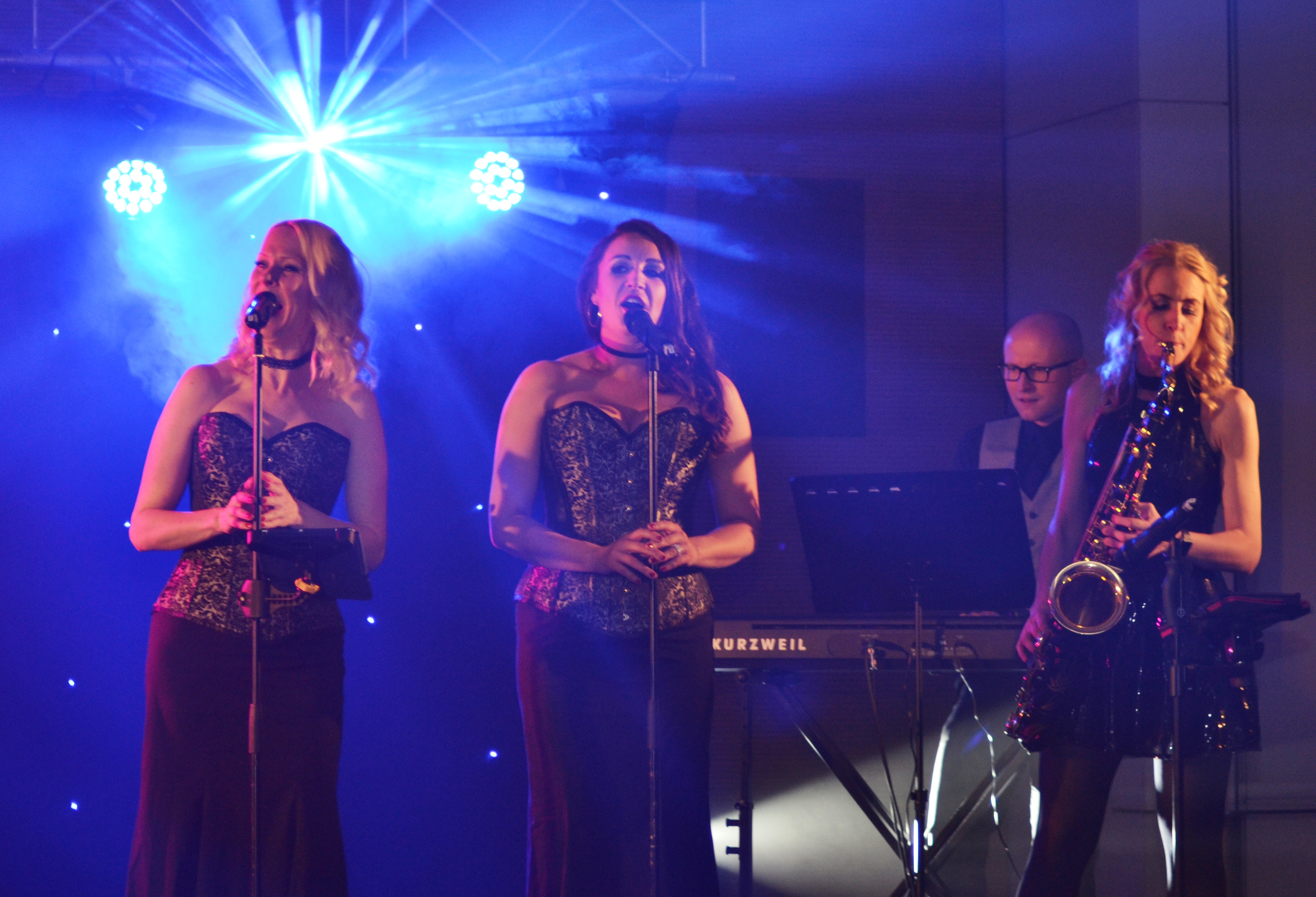 Live band at NLP Awards