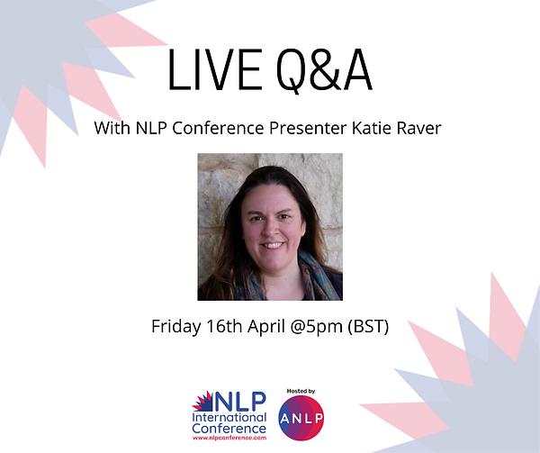 2021 04 16 @5pm - LIVE Q&A  Katie Raver.