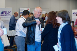 Making new friends at NLP Conference