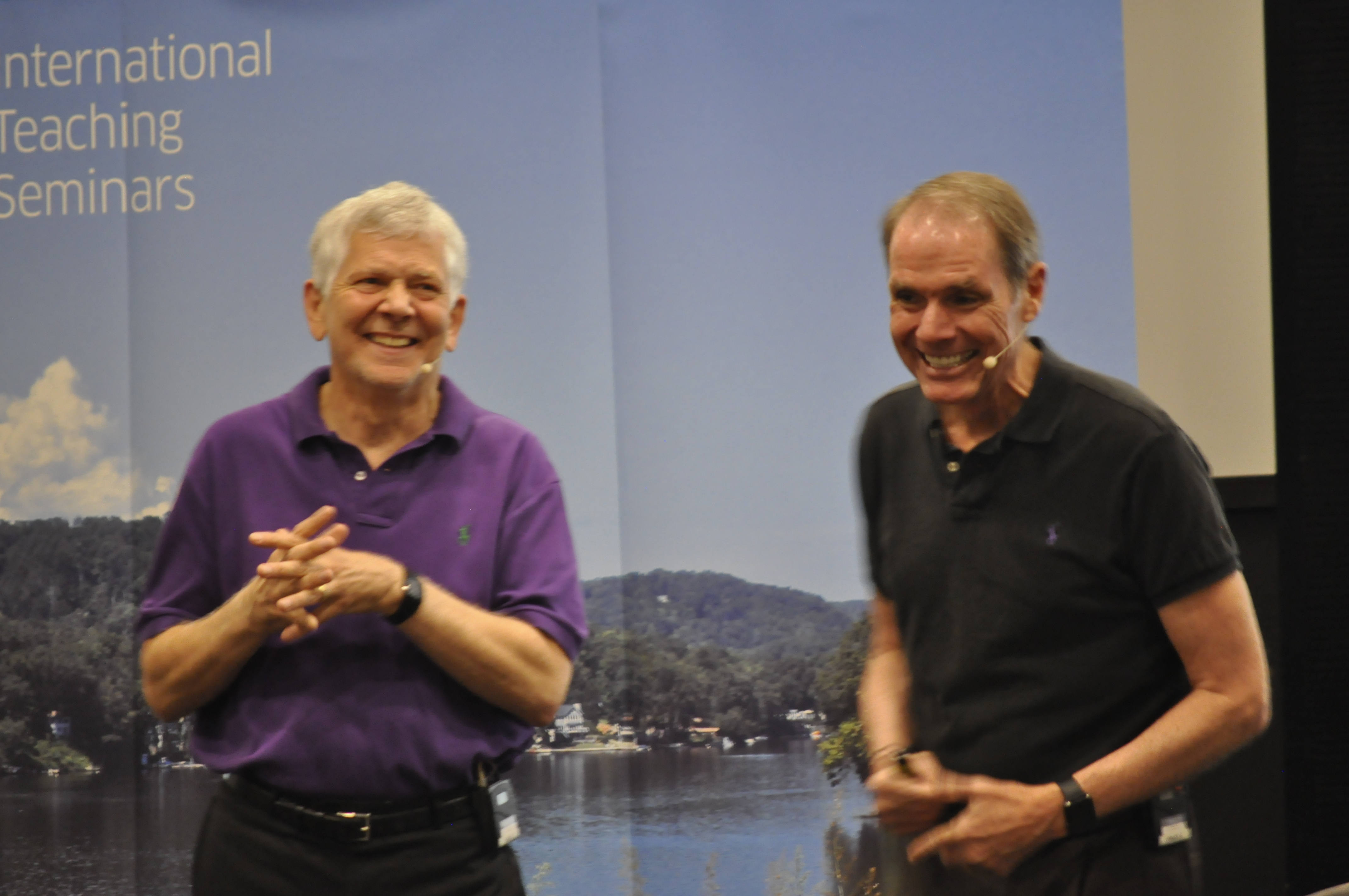 Robert Dilts and Ian Mcdermott