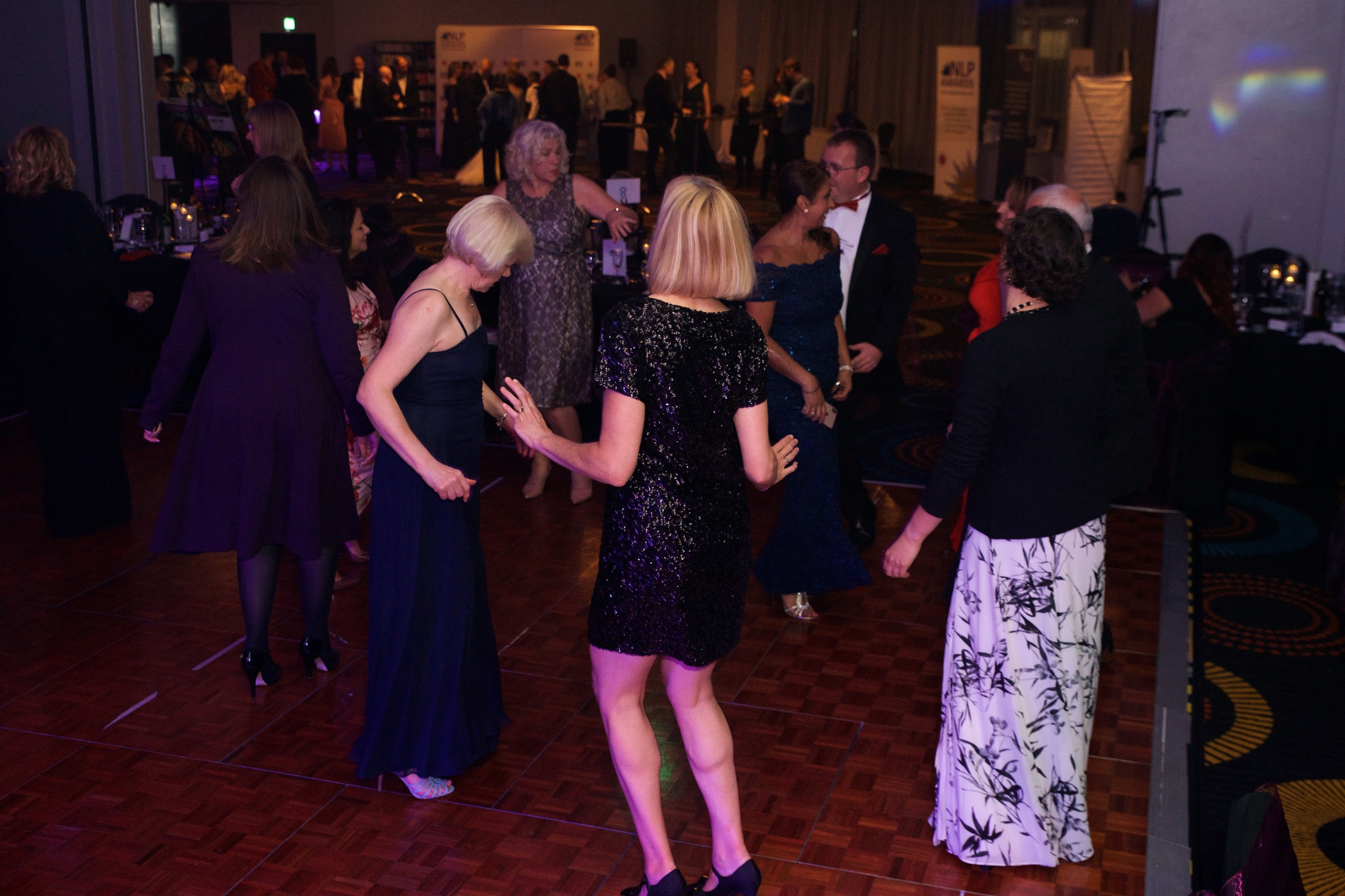 Dancing at NLP Awards Evening