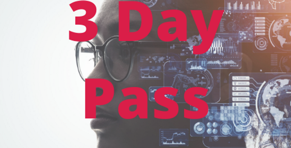 3 Day Conference Pass (exc VAT)