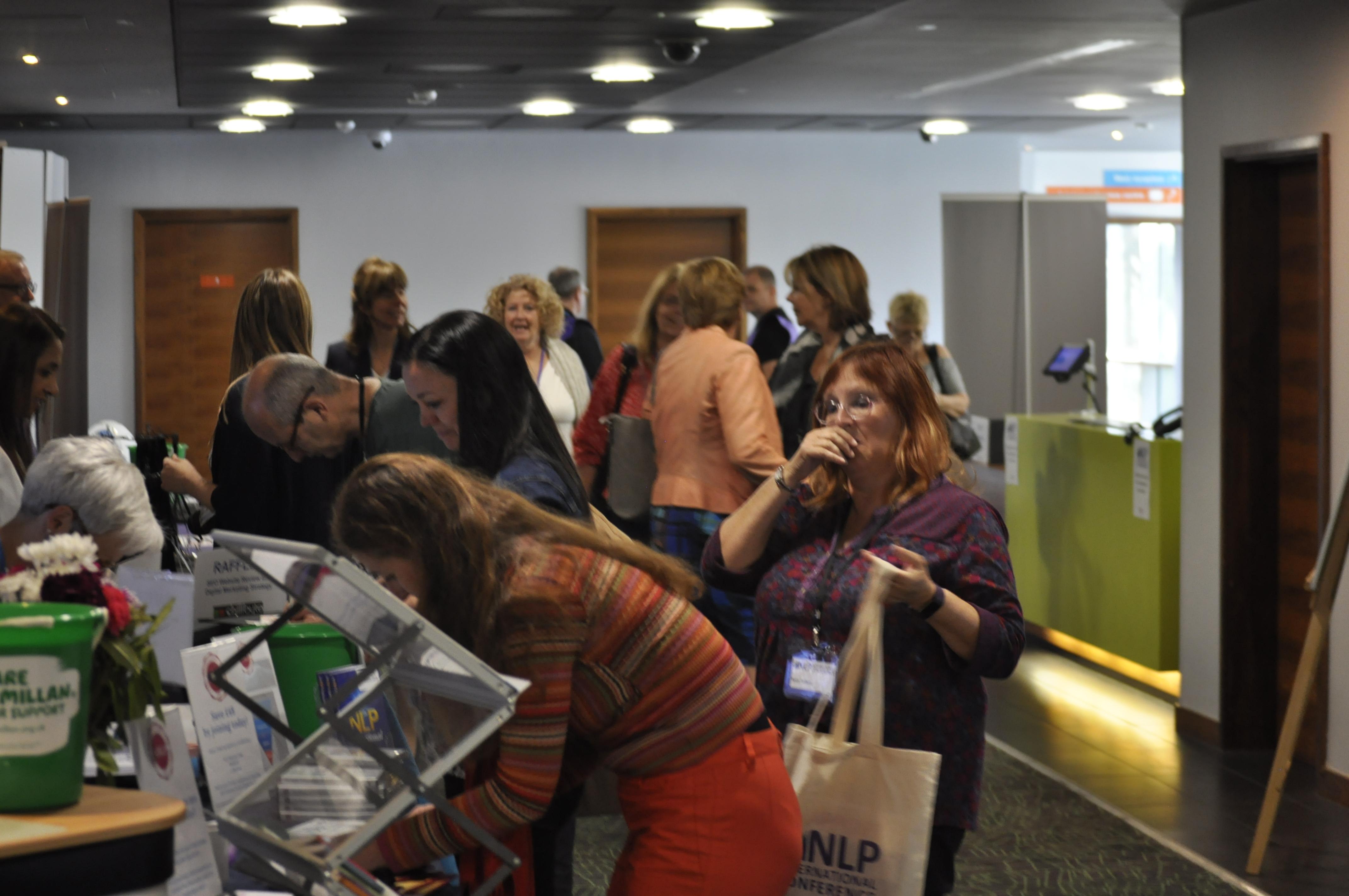 2018 conference registration area