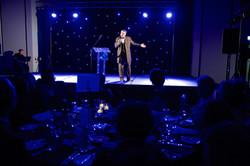 MC Joe Cheal at 2019 NLP Awards