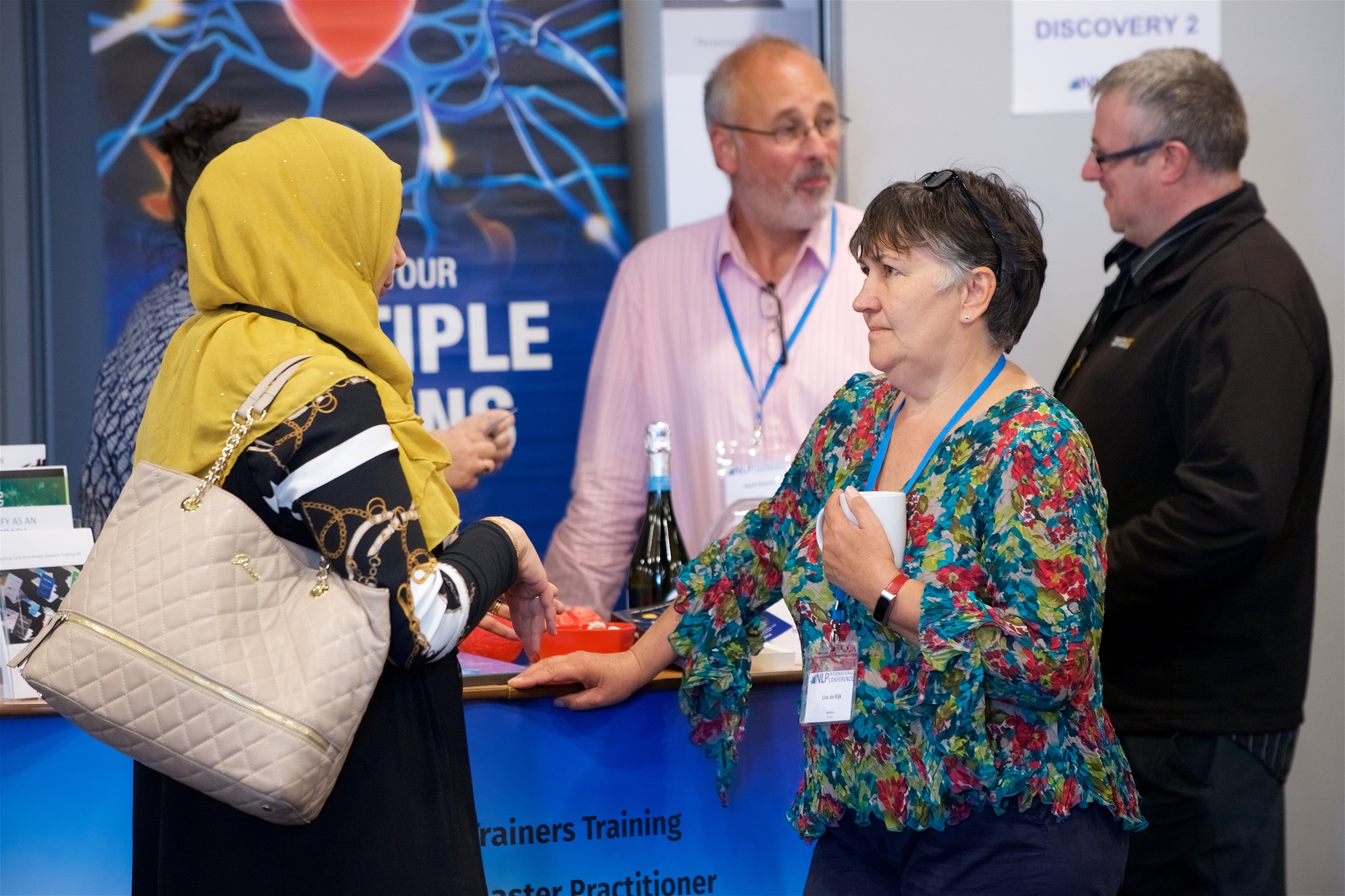 mBraining Exhibitor Stand