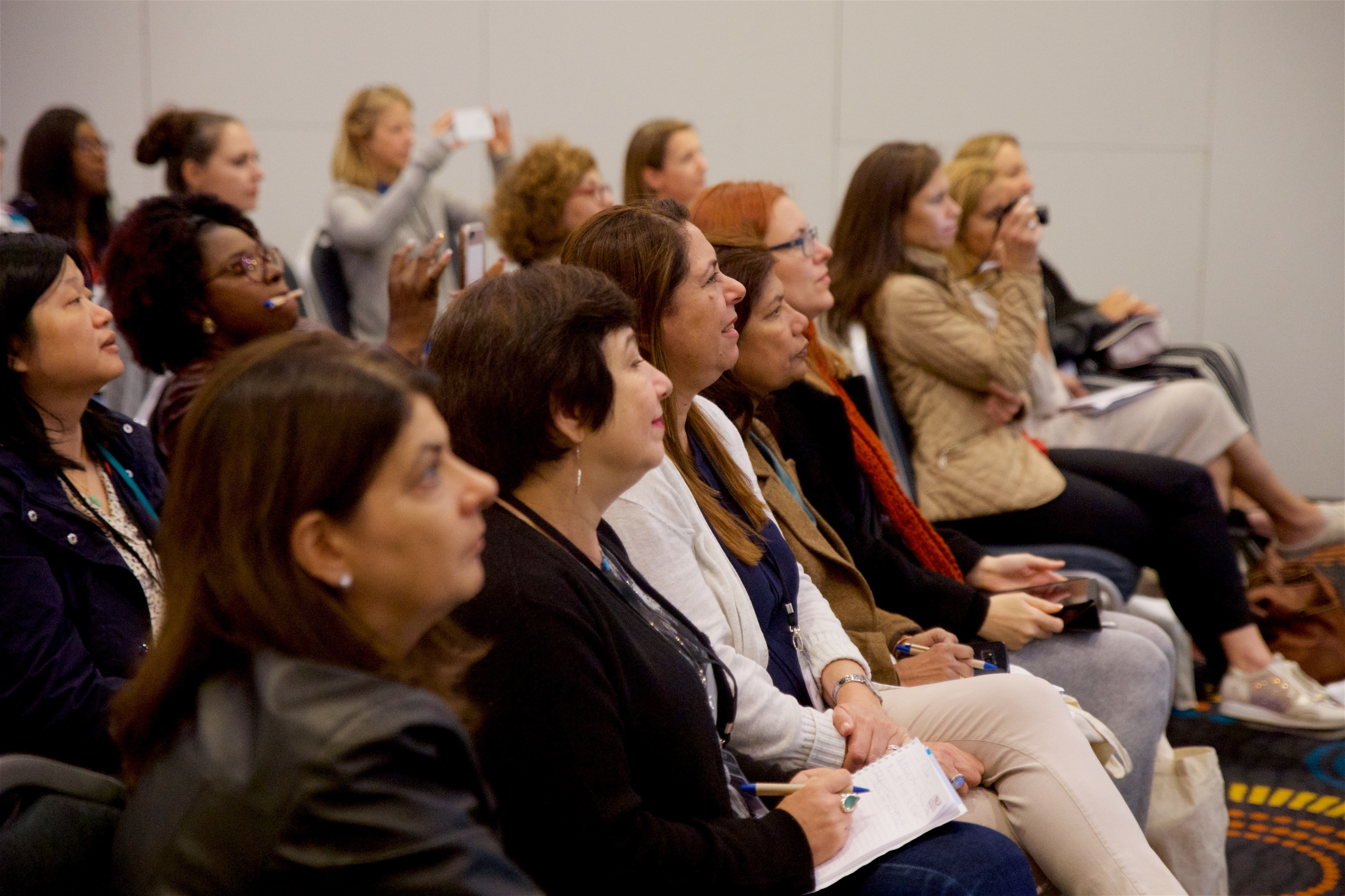 Audience at NLP Conference