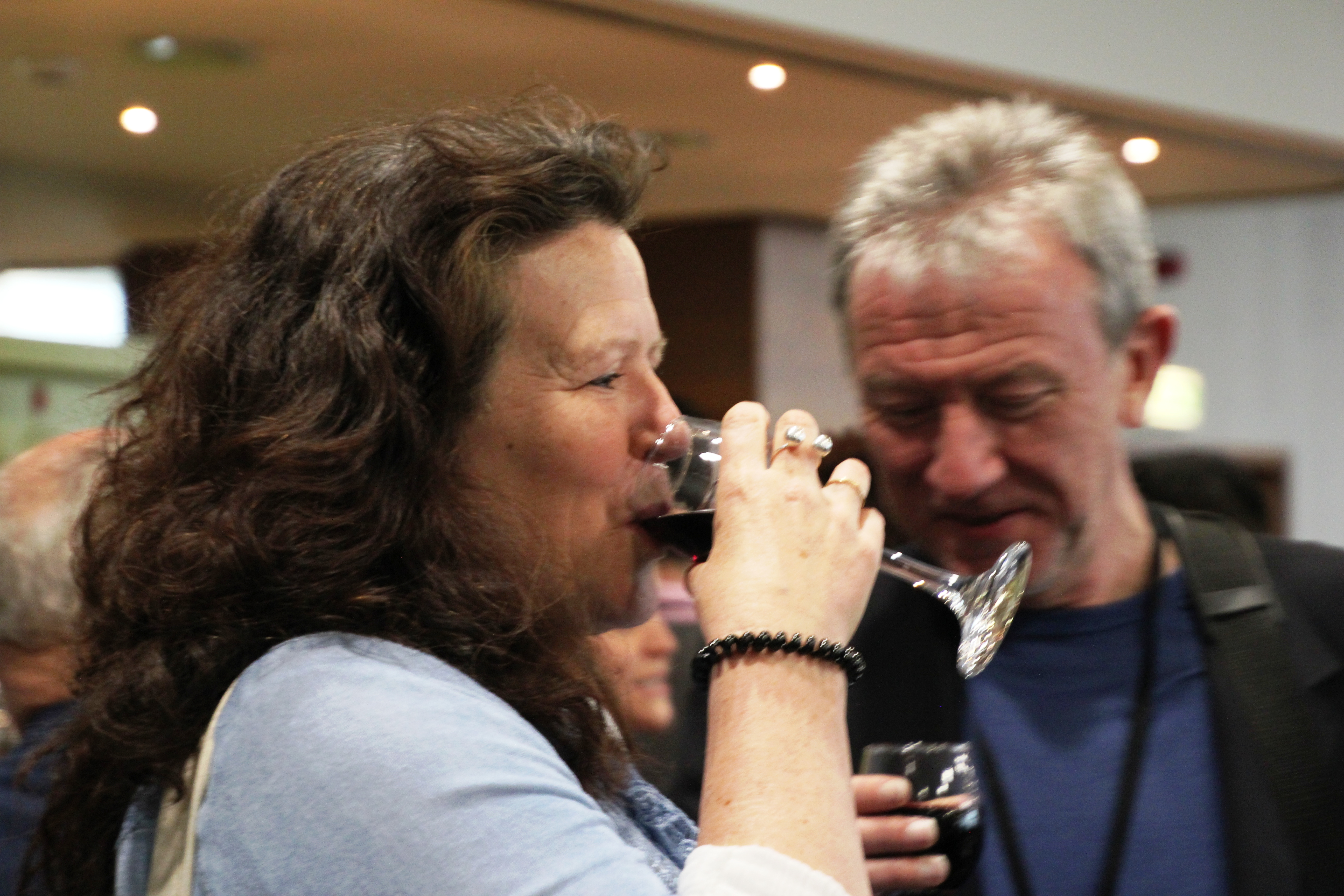 Enjoy wine at NLP Conference