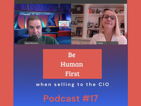 Selling to the CIO Podcast #17