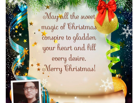 Mary Christmas and advance happy new year