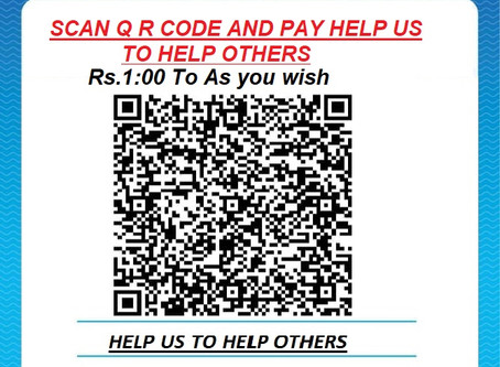 DONATE US TO HELP OTHERS