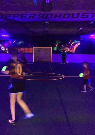 Upper 90 Houston Black Light Dodgeball