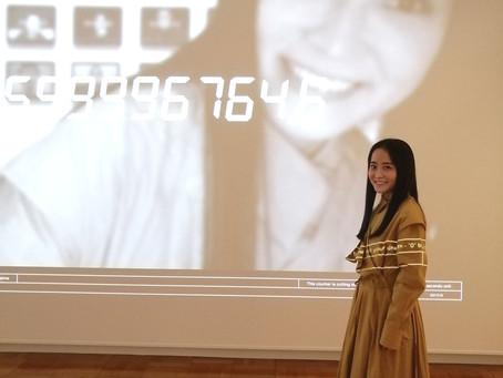 美術検定への取り組み~女優/モデル・西条美咲さん