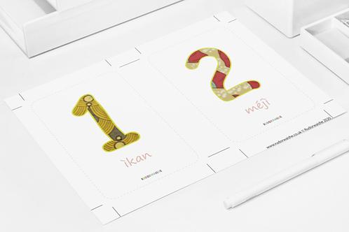 YORUBA | Numbers Printable